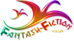 Fantasy Fiction Dragon Logo