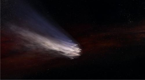 """The """"comet"""" is the necromancer fleet coming for a planet near you"""