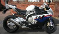 BMW S1000RR Motorbike Side On