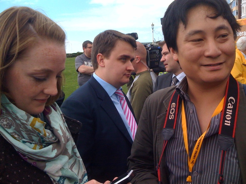 Nick Griffin working behind the scenes for the Liberal Democrats?