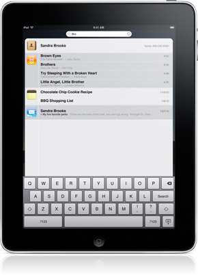 iPad - Keyboard