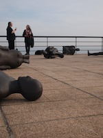 Antony Gormley Exhibition, Critical Mass, at the De La Warr Pavilion