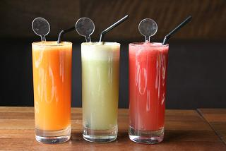 Cleanse, detoxify and revitalise with fresh juices