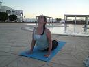 Yoga at sunrise with Jo Hogarty