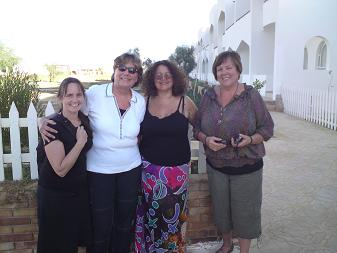 Guests at healing retreat Red Sea