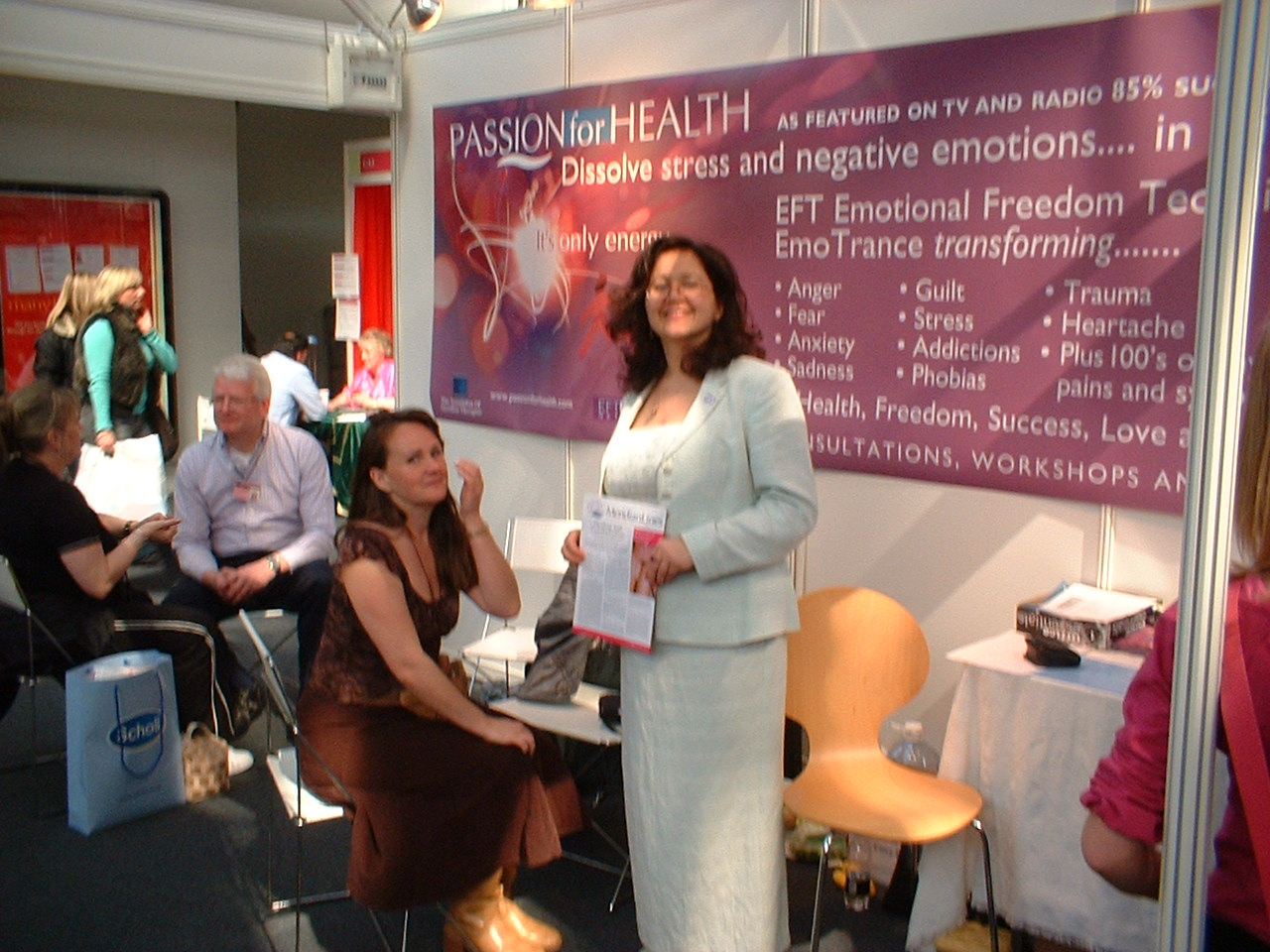 Sandra Hillawi Trainer at The Vitality Show London