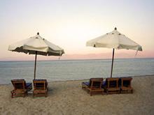 Ciao Hotel Beach venue for our Detox Healing Yoga Retreat