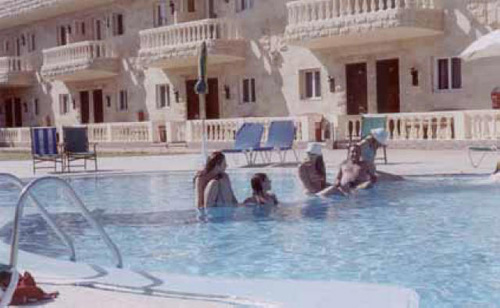 In the Jacuzzi Pool?