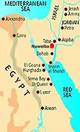 Detox yoga healing retreats Nuweiba Red Sea Egypt