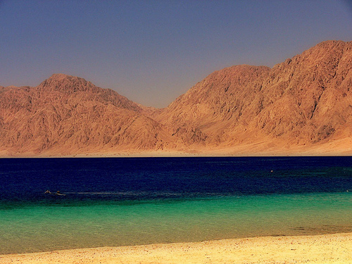 Beach at Nuweiba, venue for Detox Healing Retreats