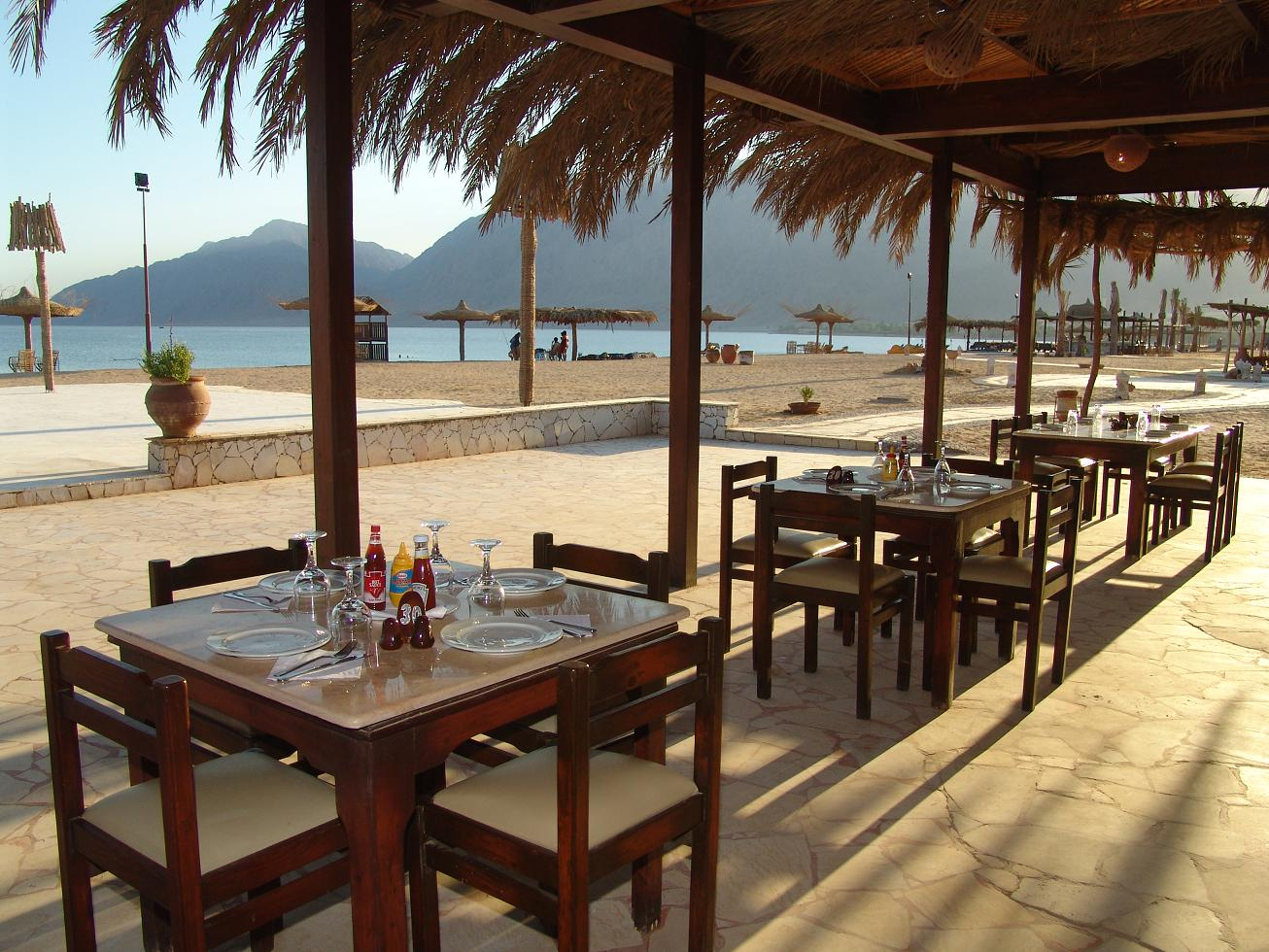 AlSayadeen Beach Side Dining Area