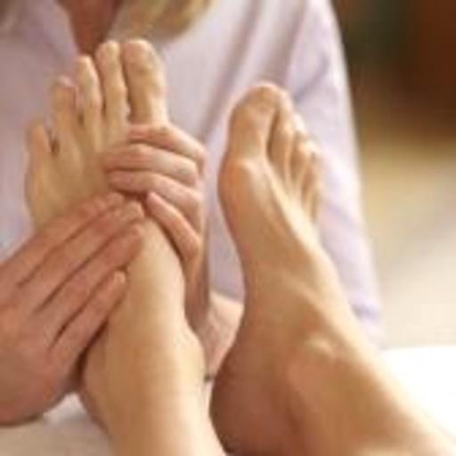 Foot Massage on the Beach