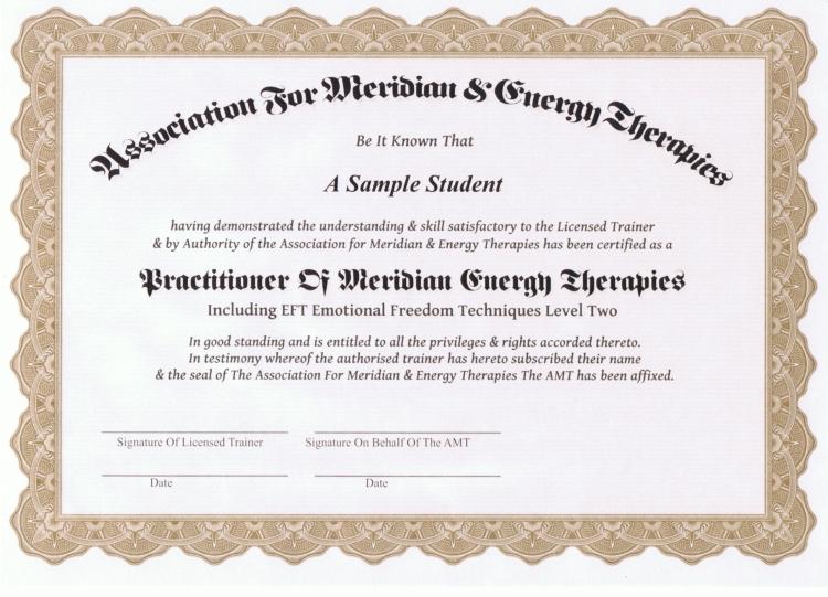 The GoE\'s New Practitoner Certificate | GoE