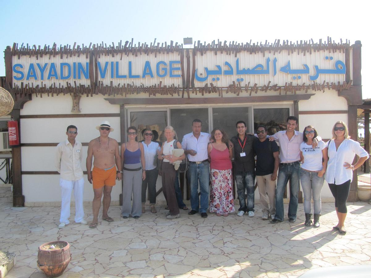 Sad farewells at Sayadeen Village