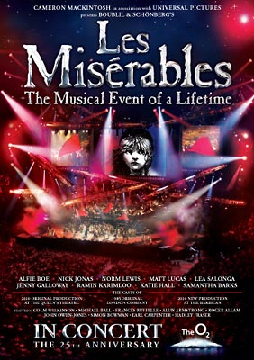Les Misérables – 25th Anniversary DVD Review
