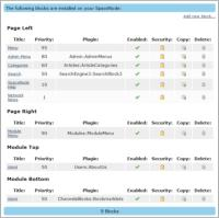 Blocks Page Redesign