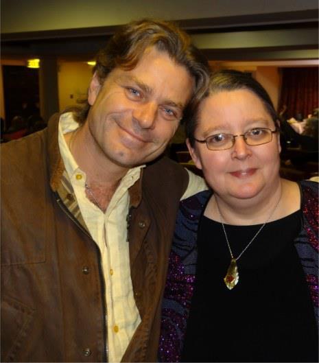 Thornton Streeter and Silvia Hartmann