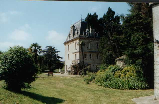 Chateau rear view
