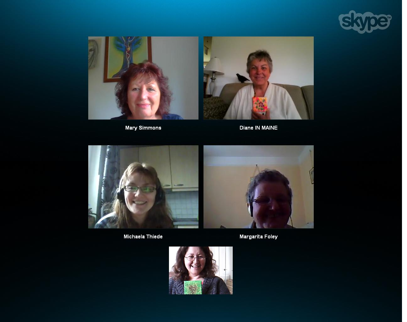 Positive EFT by Skype May 2014