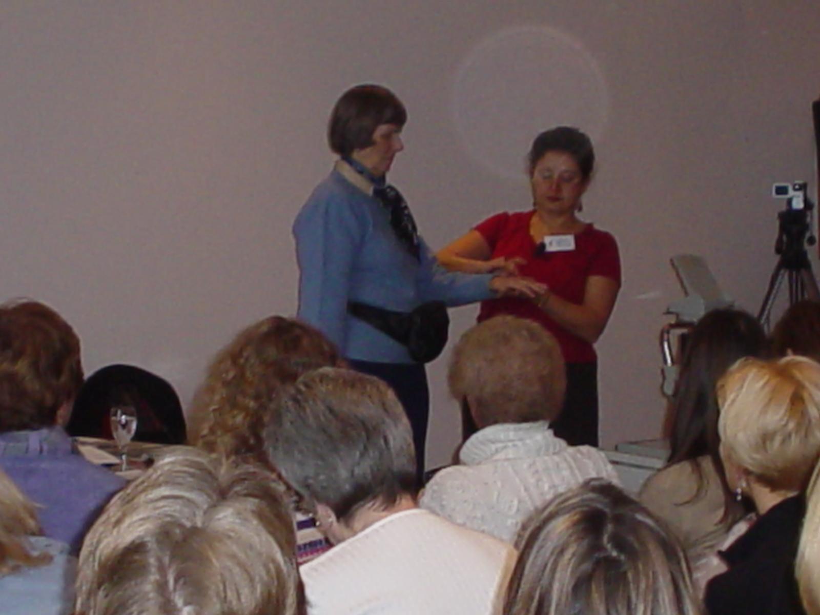 2003 EFT Workshop Association of Reflexologists London