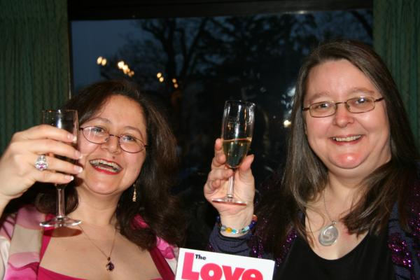 Sandra Hillawi Silvia Hartmann Love Clinic Launch