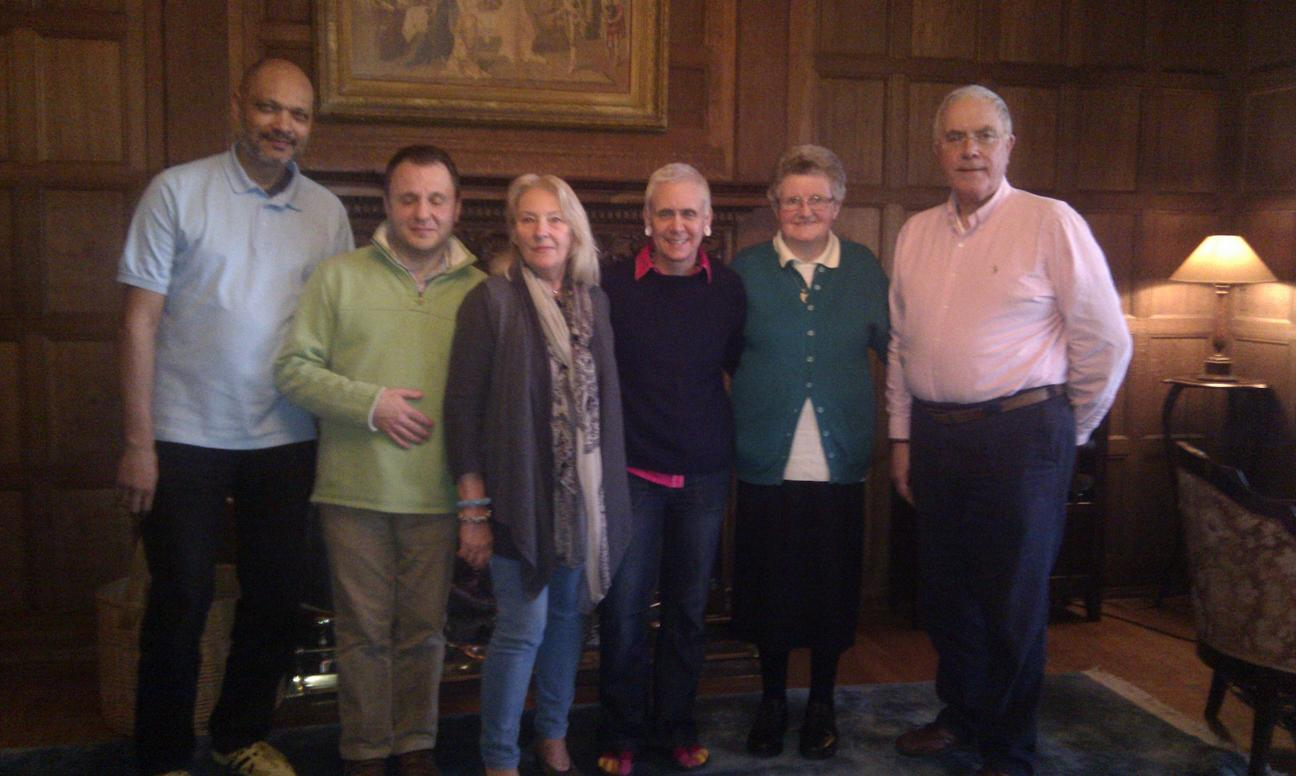 AMT Energist Trainers at Sedgwick Park 2014