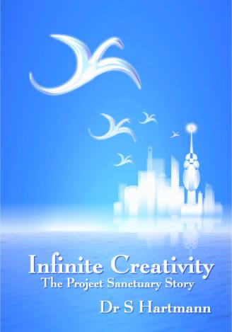 Infinite Creativity White Dragons Flying To Pertineri Cover Image