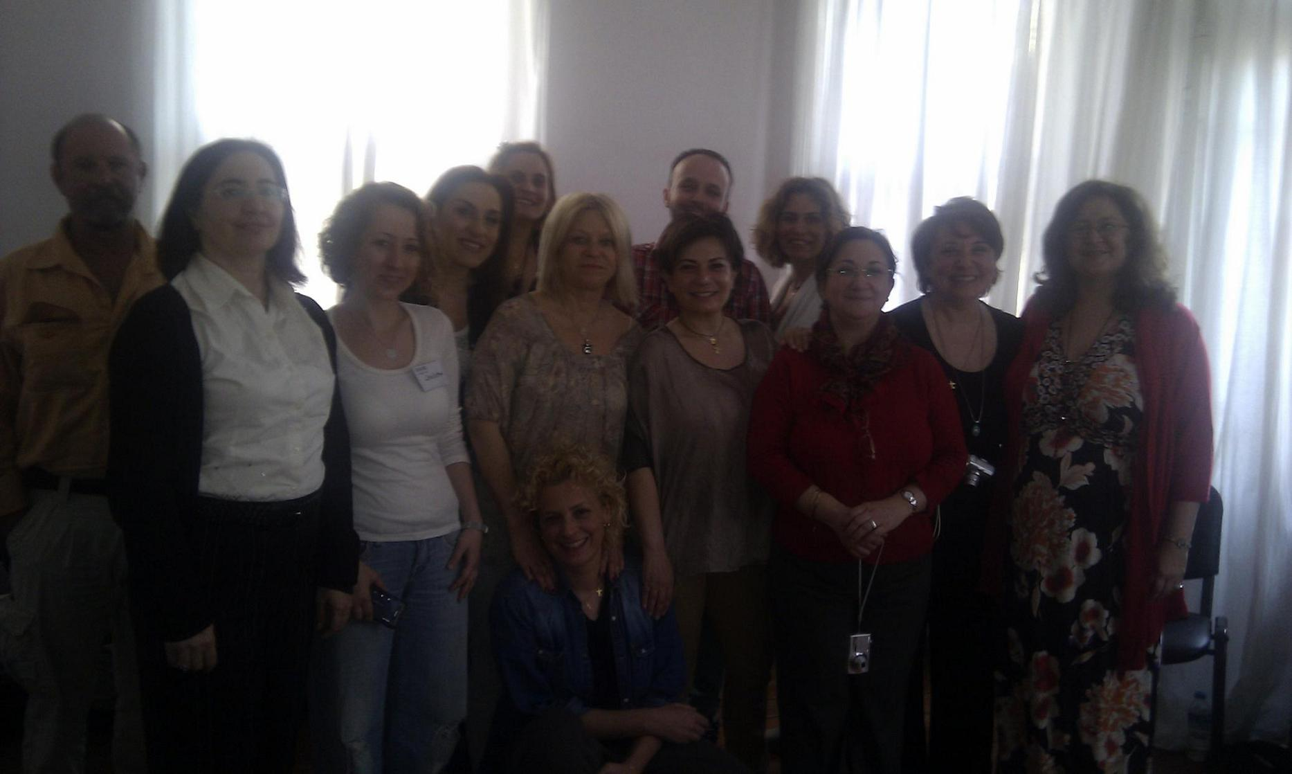 12 new EFTMaster Practitioners in Istanbul May 2012