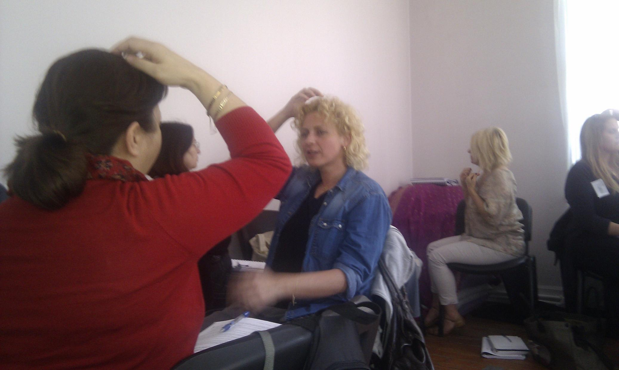 Handan and Berrak EFT Training at Radia Istanbul Turkey