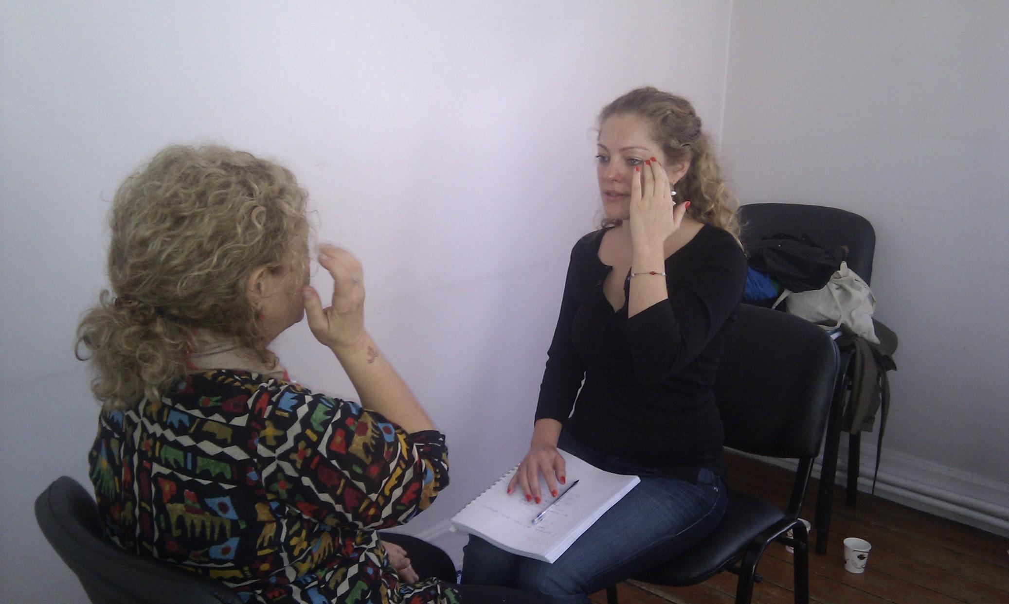 Suheyla and Sabıha EFT Master Practıtıoner Traınıng