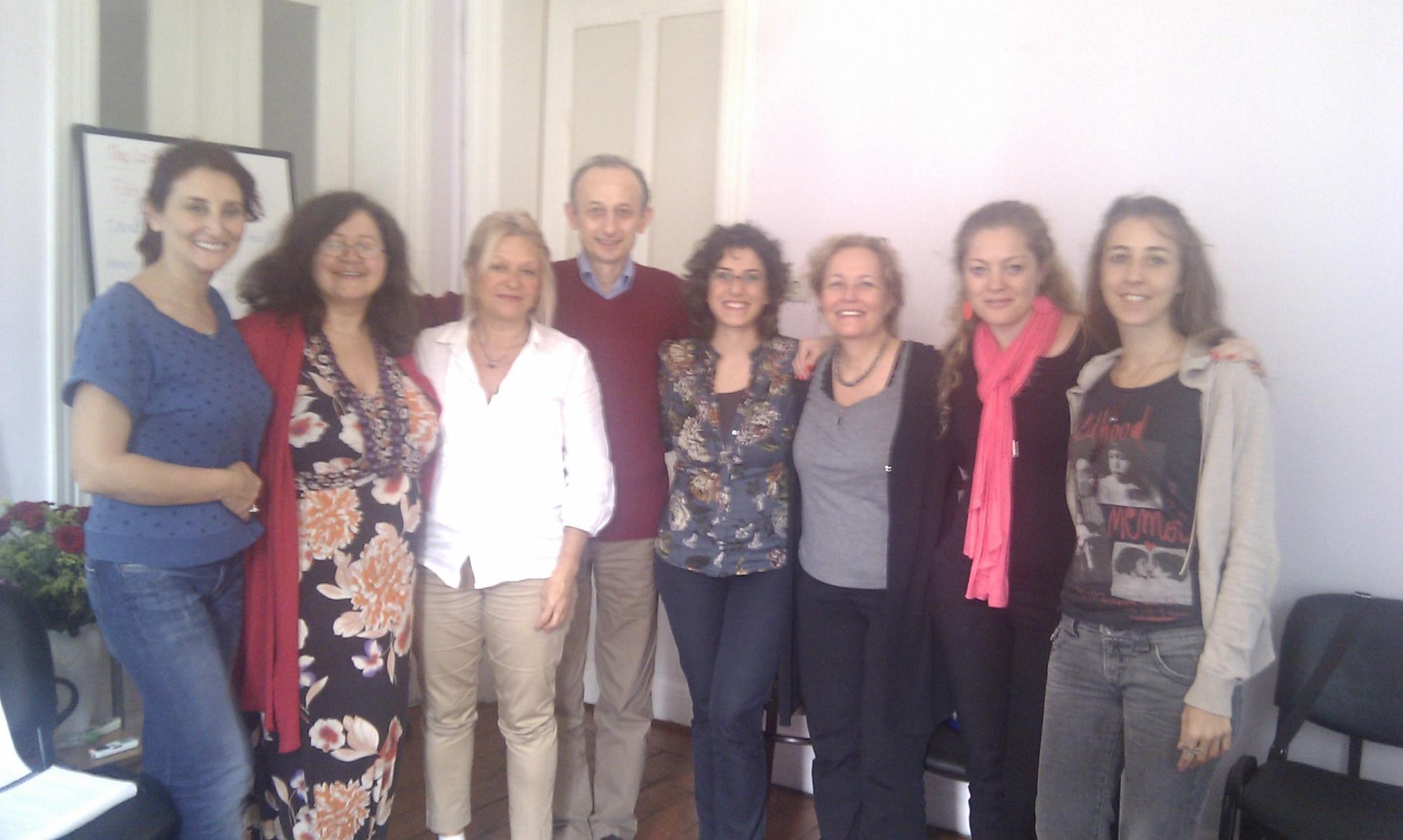 İstanbul New EFT Master Practıtıoners Oct 2012