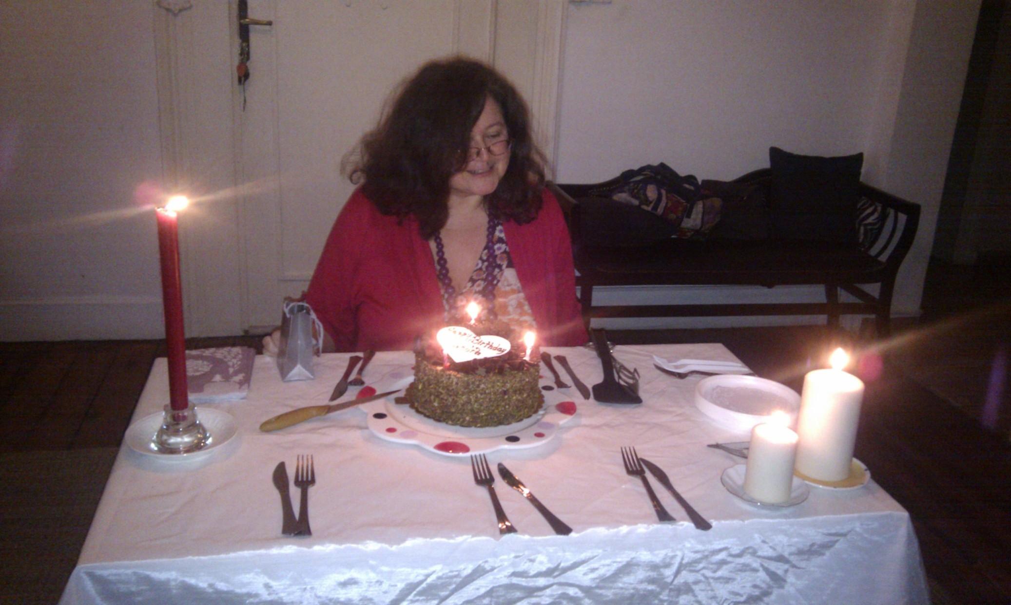 Sandra Hıllawı 49th Bırthday İstanbul Oct 2012