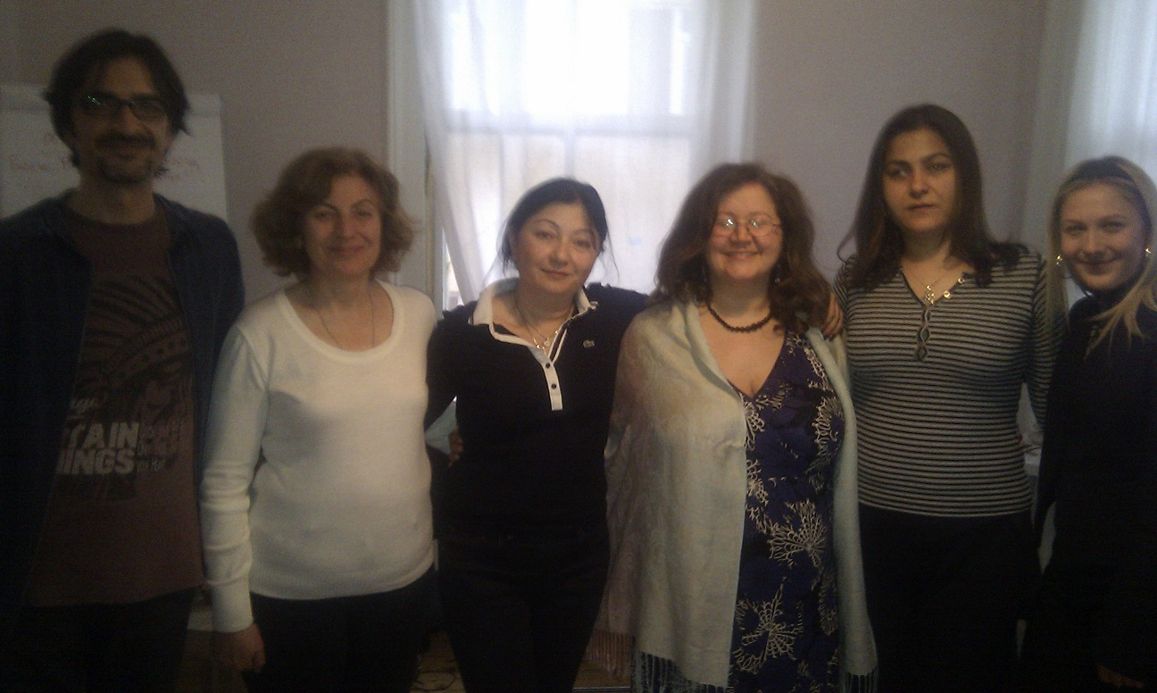 Istanbul EFT Master Practitioners March 2014