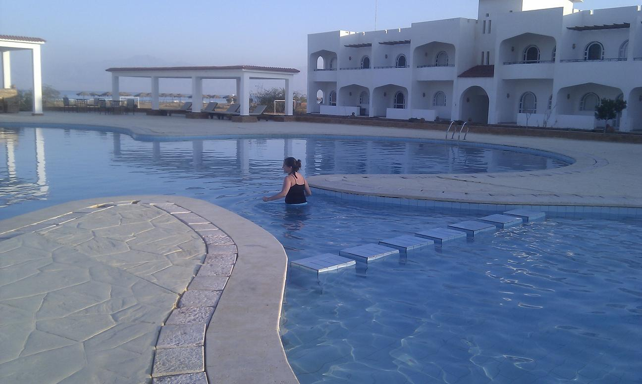 Beautiful healing retreat venue beside the Red Sea Sinai