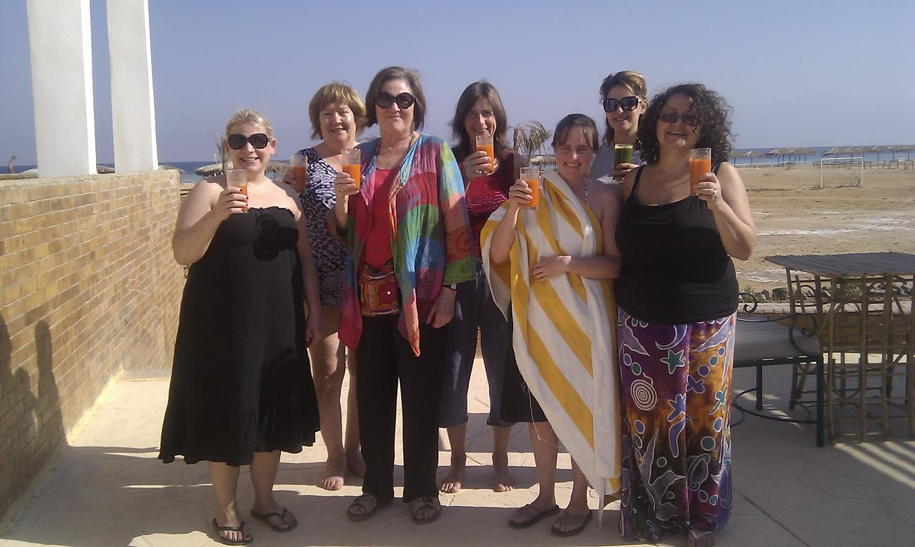 Welcome to our Detox Healing Retreat in Nuweiba