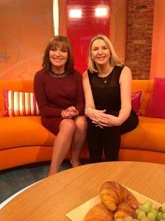 Susan Kennard & Lorraine Kelly ITV