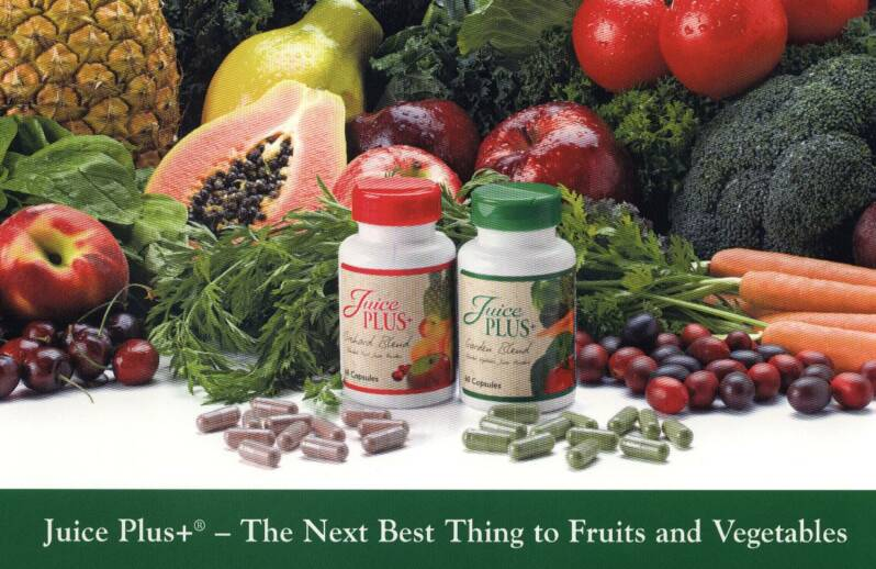JuicePlus+ next best Thing To Fruits and Vegetables