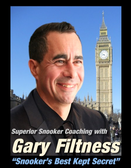 London Snooker Coach Gary Filtness