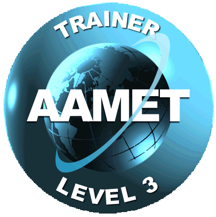 AAMET Trainers Seal