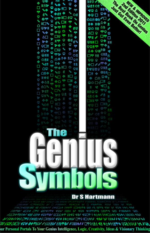 Best Book On Genius: The Genius Symbols by Dr S Hartmann