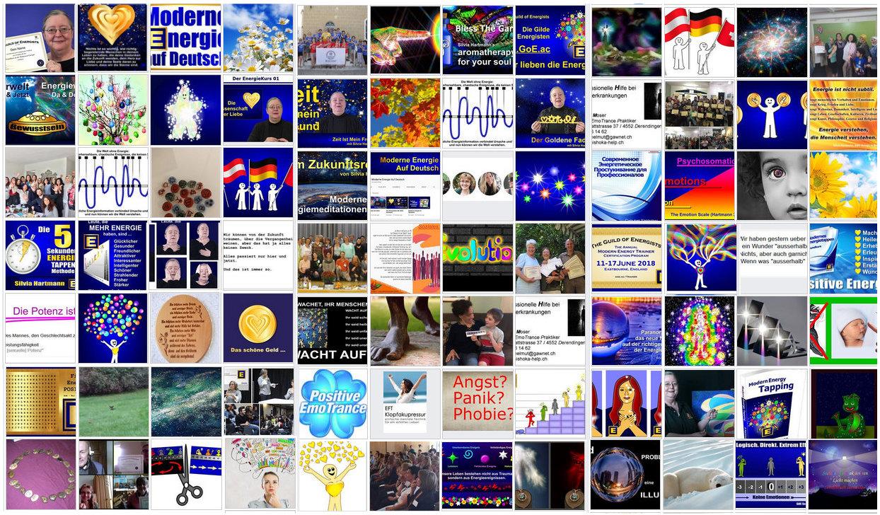 Moderne Energie mit Silvia Hartmann auf Deutsch - Facebook Gruppe